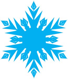 Frozen Snowflake PNG Pic PNG Clip art