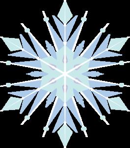 Frozen Snowflake PNG Transparent Image PNG clipart