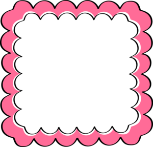 Fuchsia Border Frame PNG Image PNG Clip art