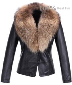 Fur Lined Leather Jacket PNG Photos PNG Clip art