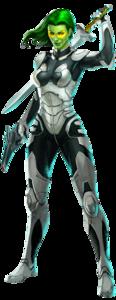 Gamora Transparent Background PNG Clip art