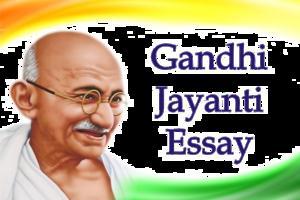 Gandhi Jayanti PNG Pic PNG Clip art