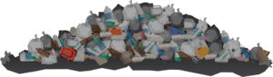 Garbage Background PNG PNG Clip art