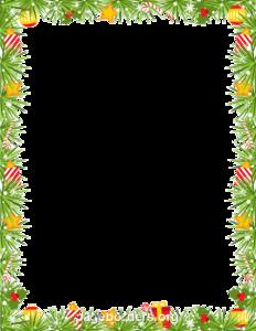Garland Frame PNG Clipart PNG Clip art