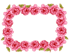 Garland Frame Transparent PNG PNG Clip art