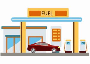 Gas Station PNG File PNG Clip art