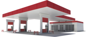 Gas Station PNG HD PNG Clip art