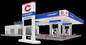 Gas Station Transparent PNG PNG Clip art