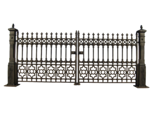 Gate PNG File PNG Clip art