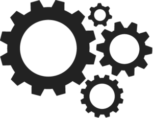 Gears PNG Transparent PNG icon