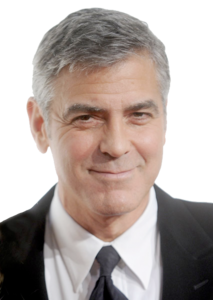 George Clooney PNG File PNG Clip art