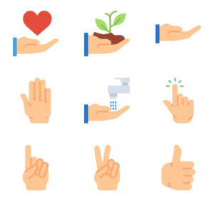Gesture PNG Clipart PNG icon