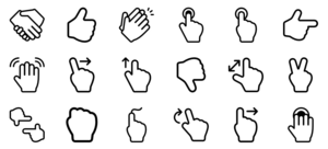 Gesture PNG File PNG icon