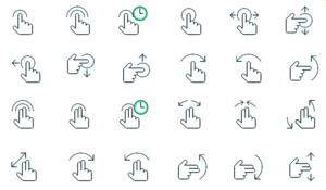 Gesture PNG Pic PNG icon