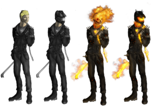 Ghost Rider Face PNG Transparent Image PNG Clip art