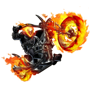 Ghost Rider Face Transparent Background PNG Clip art