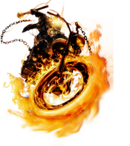Ghost Rider Face Transparent PNG PNG Clip art