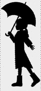 Girl Umbrella PNG File PNG Clip art