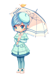 Girl Umbrella Transparent PNG PNG Clip art