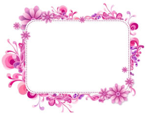 Girly Border PNG Photos PNG icons