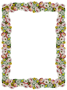 Girly Border PNG Pic PNG Clip art