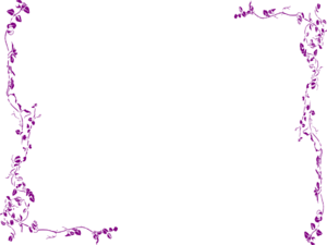 Girly Border PNG Transparent Image PNG Clip art