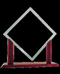 Glass Award Transparent Background PNG Clip art