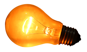 Glowing Bulb PNG Clipart PNG Clip art