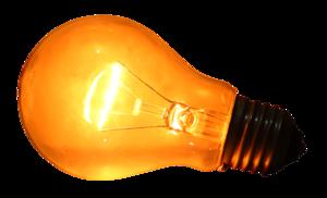 Glowing Bulb PNG Clipart PNG Clip art