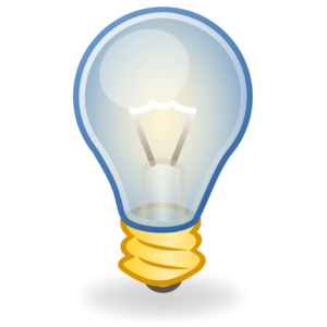 Glowing Bulb PNG Transparent Image PNG icons