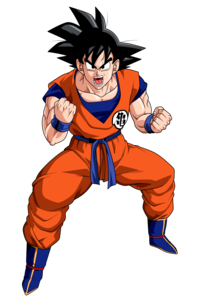 Goku Transparent Background PNG Clip art