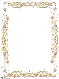 Gold Border Frame PNG Image PNG Clip art