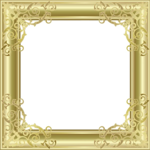 Gold Border Frame PNG Picture PNG Clip art
