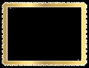 Gold Border Frame PNG Transparent Picture PNG Clip art