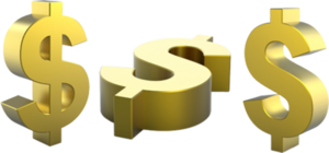 Gold Dollar PNG Pic PNG Clip art