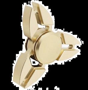 Gold Fidget Spinner PNG Free Download Clip art