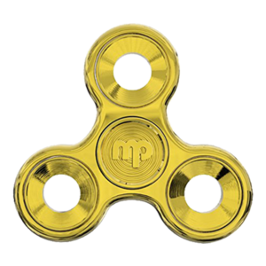Gold Fidget Spinner PNG Transparent Clip art