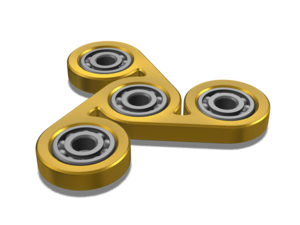 Gold Fidget Spinner Transparent PNG PNG Clip art