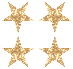 Gold Glitter Star PNG Image PNG Clip art