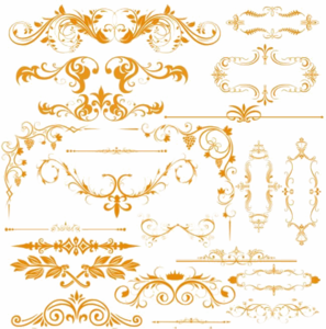 Gold Lace PNG Free Download PNG Clip art