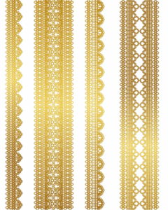 Gold Lace PNG Pic PNG Clip art