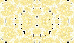 Gold Lace PNG Transparent Picture PNG Clip art