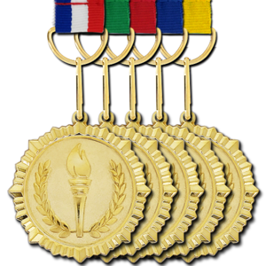 Gold Medal Background PNG PNG icons