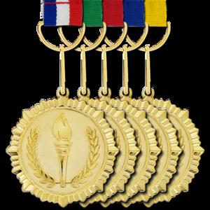Gold Medal Background PNG PNG Clip art
