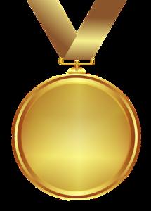Gold Medal PNG Transparent PNG Clip art