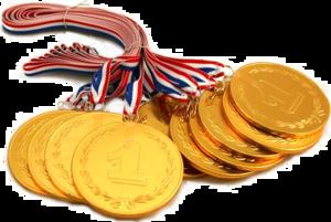 Gold Medal Transparent PNG PNG image