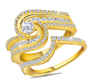 Gold Rings PNG File PNG Clip art