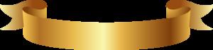 Golden Ribbon Banner PNG Clipart PNG Clip art