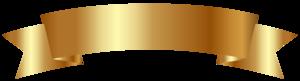 Golden Ribbon Banner PNG Image PNG Clip art