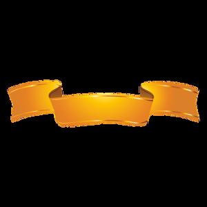 Golden Ribbon PNG Clipart PNG Clip art